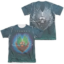 Journey Evolution Sub (Front Back Print) Adult Poly Cotton Short Sleeve Tee T-Shirt