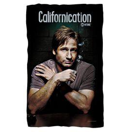 Californication Moody Fleece Blanket