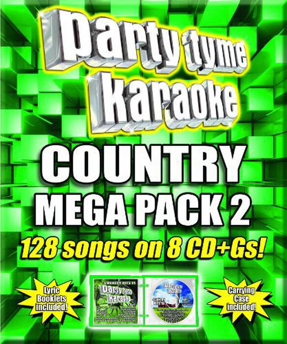 Various Artists - Party Tyme Karaoke: Country Mega Pack 2 / Various