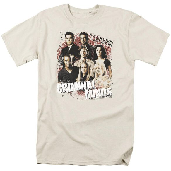 Criminal Minds Solution Lies Within Short Sleeve Adult Sand T-Shirt