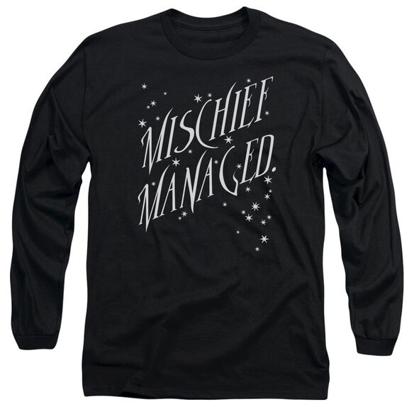 Harry Potter Mischief Managed 4 Long Sleeve Adult T-Shirt