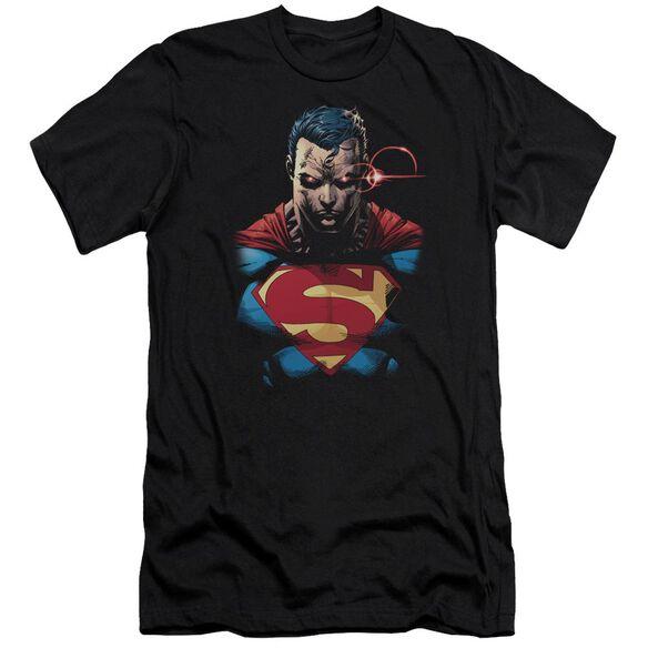 Superman Displeased Premuim Canvas Adult Slim Fit