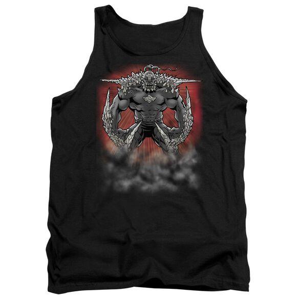Superman Doomsday Dust - Adult Tank - Black