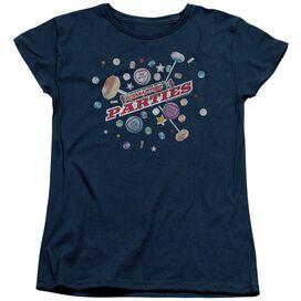 Smarties Parties Short Sleeve Womens Tee T-Shirt