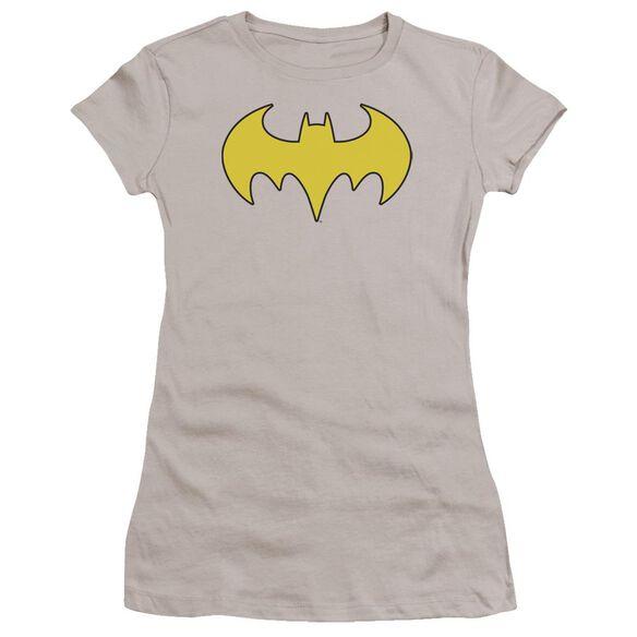 Dc Bat Girl Logo Premium Bella Junior Sheer Jersey