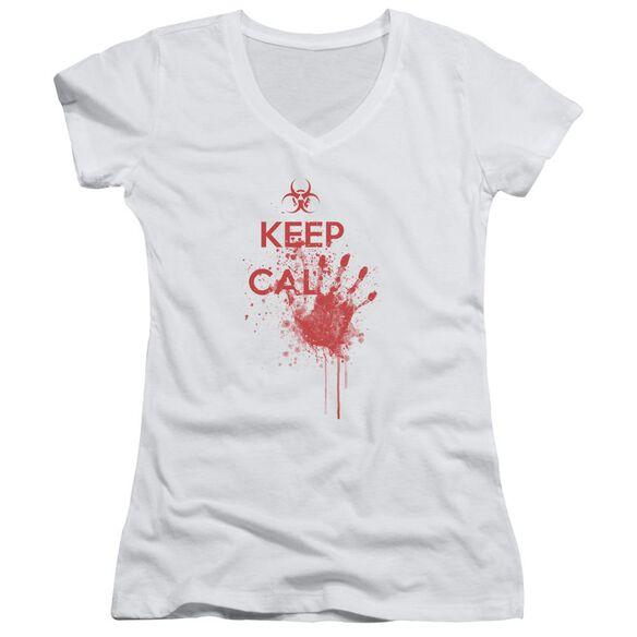 Keep Cal Junior V Neck T-Shirt