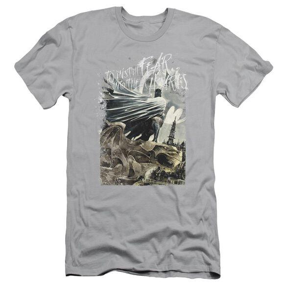 Batman Instill Fear Short Sleeve Adult T-Shirt