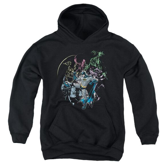Batman Surrounded Youth Pull Over Hoodie