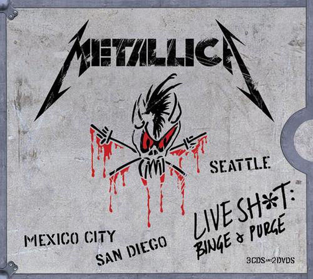 Live Shit: Binge & Purge by Metallica - New on CD   FYE