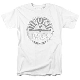 Sun Records Crusty Logo Short Sleeve Adult T-Shirt
