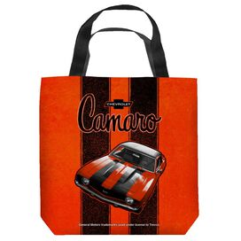 Chevrolet Camaro Stripes Tote Bag