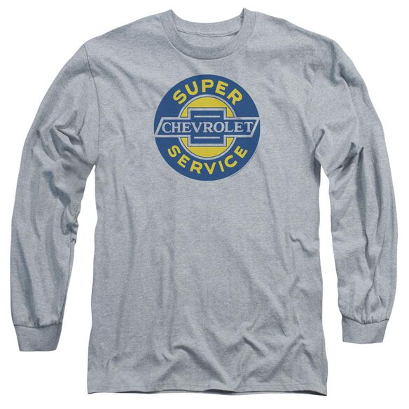 Chevrolet Chevy Super Service Long Sleeve Adult Athletic T-Shirt