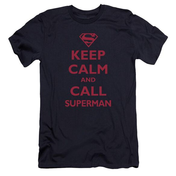 Superman Call Superman Premuim Canvas Adult Slim Fit