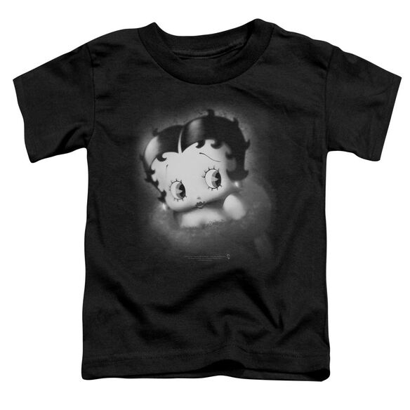 Betty Boop Vintage Star Short Sleeve Toddler Tee Black Lg T-Shirt
