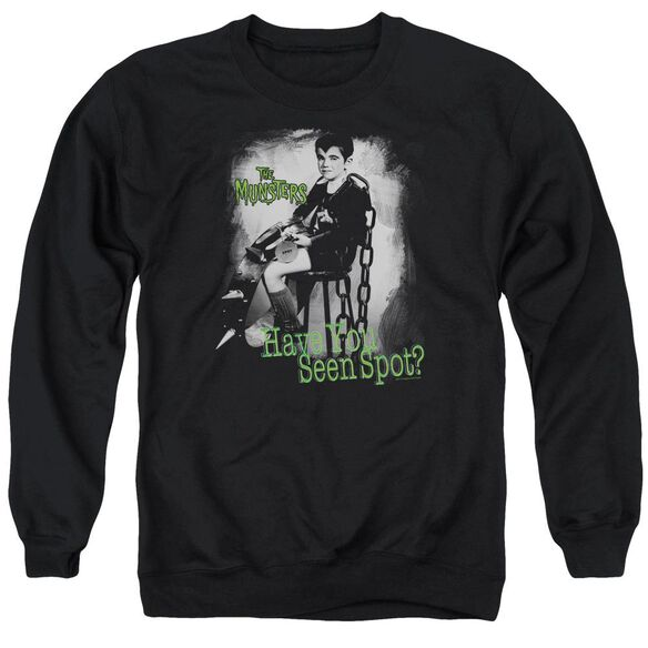 The Munsters Have You Seen Spot Adult Crewneck Sweatshirt