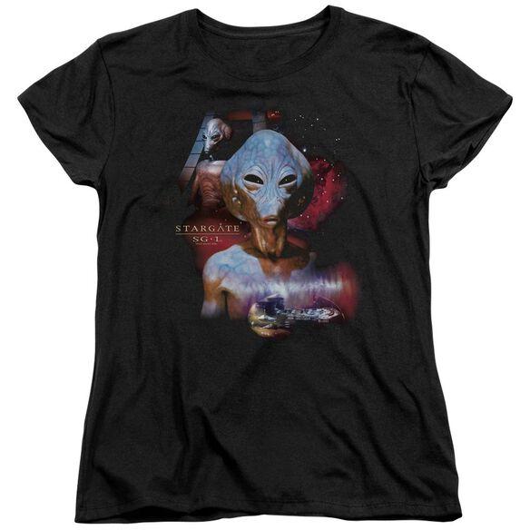 Sg1 The Asgard Short Sleeve Womens Tee T-Shirt