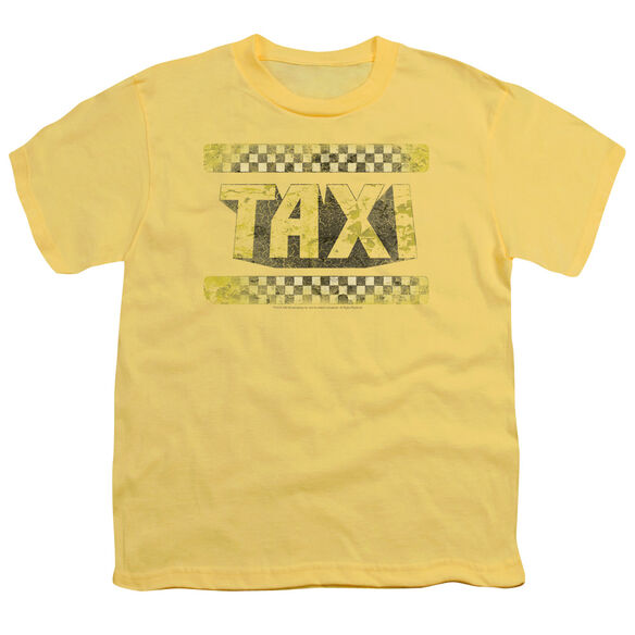 TAXI RUN DOWN TAXI - S/S YOUTH 18/1 - YELLOW T-Shirt