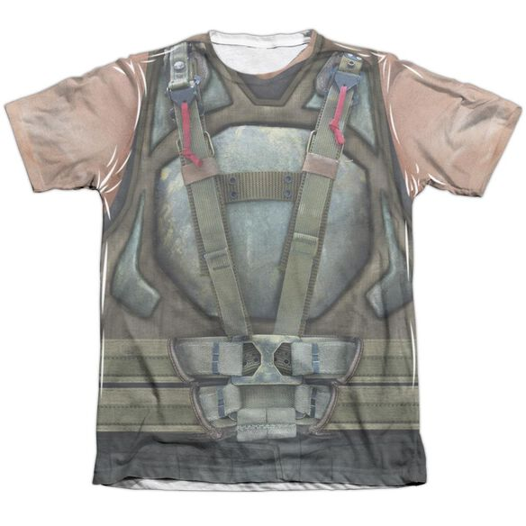 Dark Knight Rises Bane Costume Adult Poly Cotton Short Sleeve Tee T-Shirt