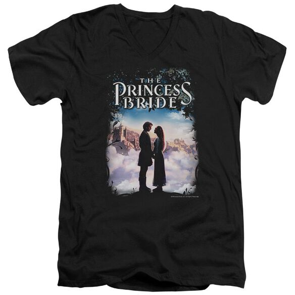 Princess Bride Storybook Love Short Sleeve Adult V Neck T-Shirt