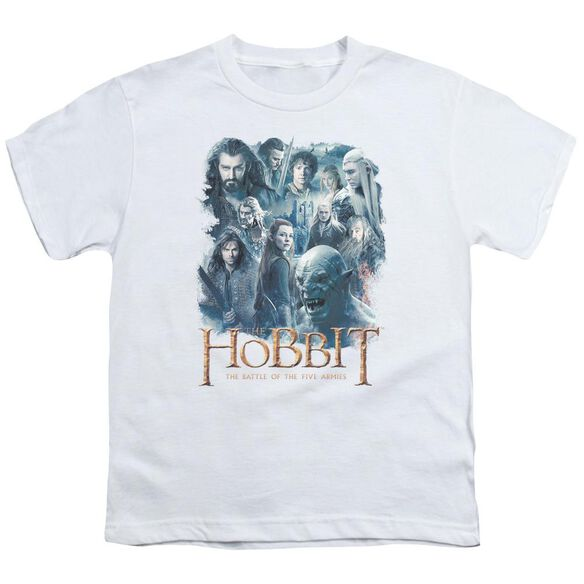 Hobbit Main Characters Short Sleeve Youth T-Shirt