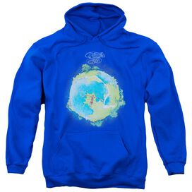 Yes Fragile Cover Adult Pull Over Hoodie Royal