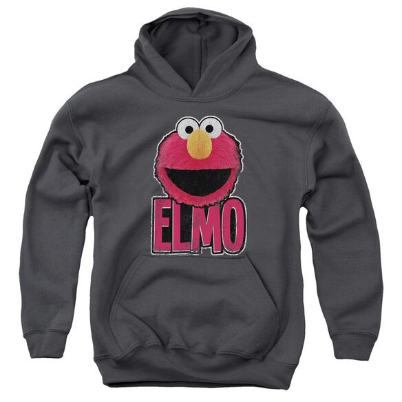 Sesame Street Elmo Smile Youth Pull Over Hoodie