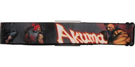 Street Fighter Akuma Seatbelt Mesh Belt