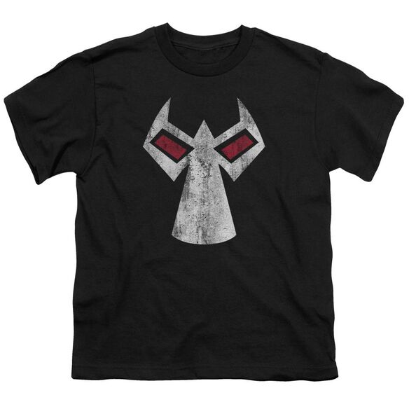 Batman Bane Mask Short Sleeve Youth T-Shirt
