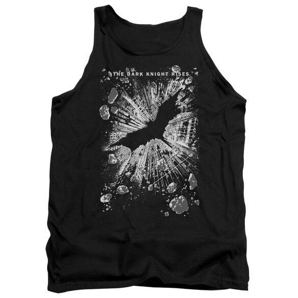 Dark Knight Rises Crumbled Adult Tank