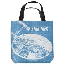 Star Trek Enterprise Blueprint Tote