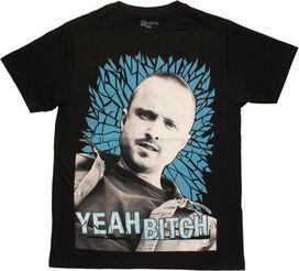Breaking Bad Jesse Yeah Bitch T-Shirt Sheer