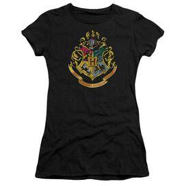 Harry Potter Hogwarts Crest Short Sleeve Junior Sheer T-Shirt
