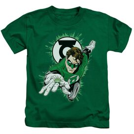 GL RING FIRST - S/S JUVENILE 18/1 - KELLY GREEN - T-Shirt
