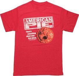 American Pie Logo Pie Red T-Shirt