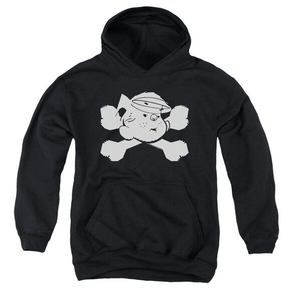 Dennis The Menace Bad To The Bone Youth Pull Over Hoodie