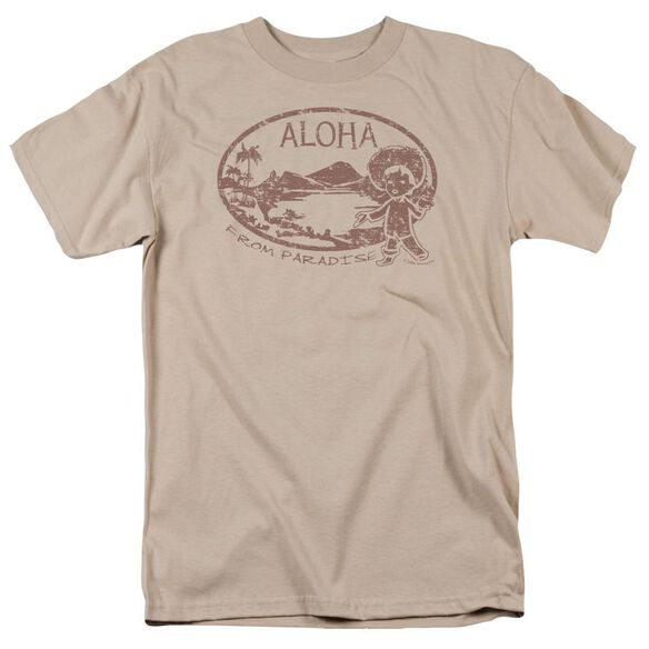 ALOHA - ADULT 18/1 - SAND T-Shirt