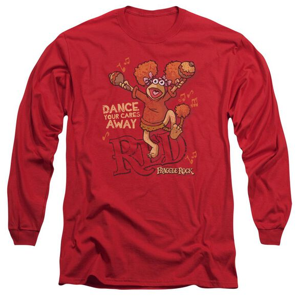 Fraggle Rock Dance Long Sleeve Adult T-Shirt
