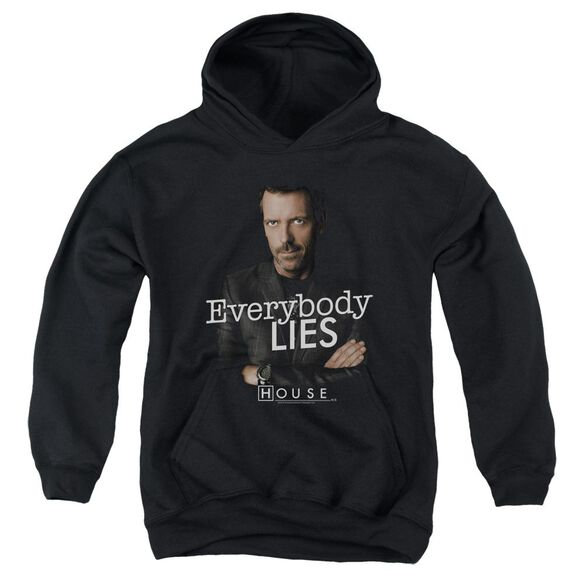 House Everybody Lies Youth Pull Over Hoodie
