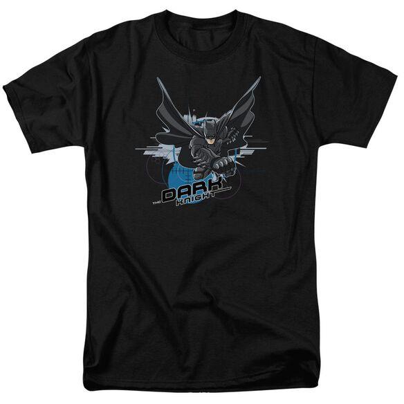 Dark Knight Target Punch Short Sleeve Adult T-Shirt