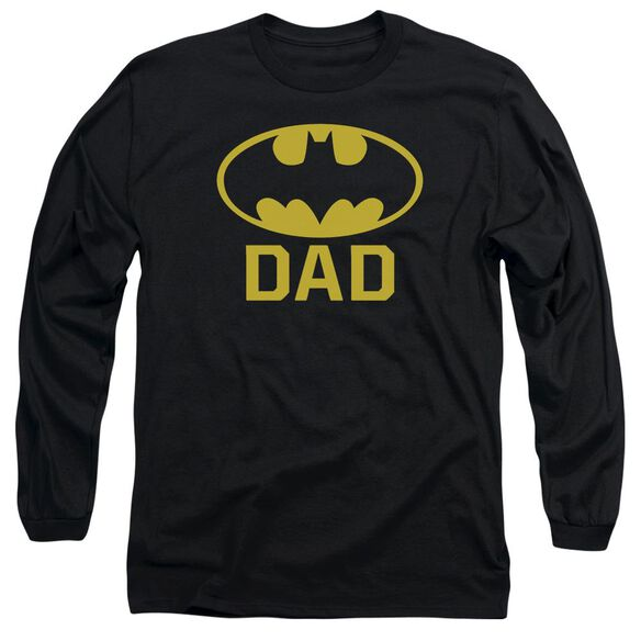 Batman Bat Dad Long Sleeve Adult T-Shirt