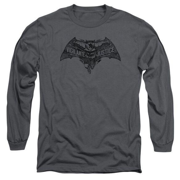 Batman V Superman Vigilante Justice Long Sleeve Adult T-Shirt