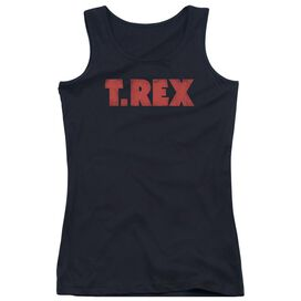 T Rex Logo Juniors Tank Top
