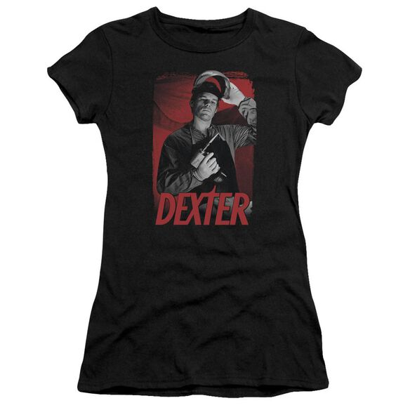 Dexter See Saw Short Sleeve Junior Sheer T-Shirt