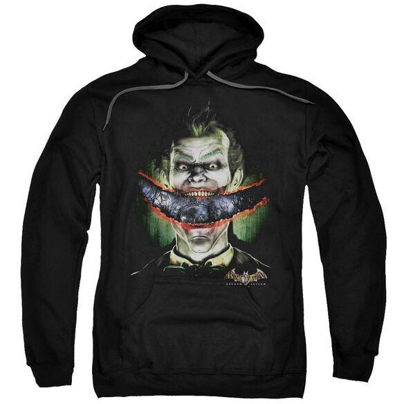 Batman Aa Crazy Lips Adult Pull Over Hoodie