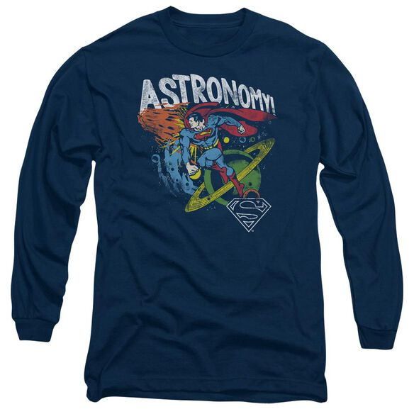 Dc Astronomy Long Sleeve Adult T-Shirt