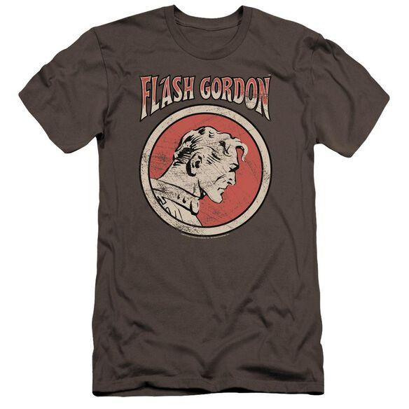 Flash Gordon Flash Circle Premuim Canvas Adult Slim Fit