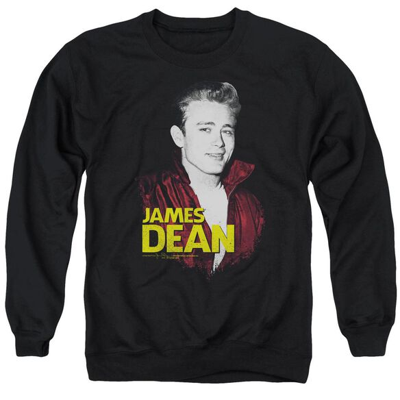 Dean Red Jacket Adult Crewneck Sweatshirt