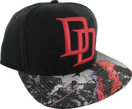 Daredevil DD Logo Sublimated Visor Hat