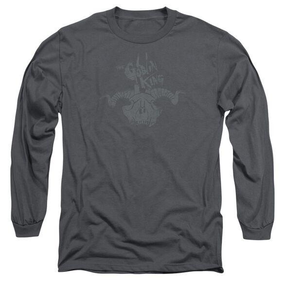 The Hobbit Golin King Symbol Long Sleeve Adult T-Shirt