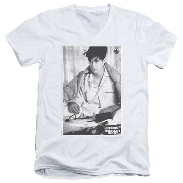 Ferris Bueller Cameron Short Sleeve Adult V Neck T-Shirt